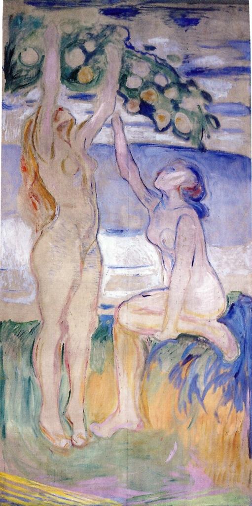 The Athenaeum - Harvesting Women (Edvard Munch)