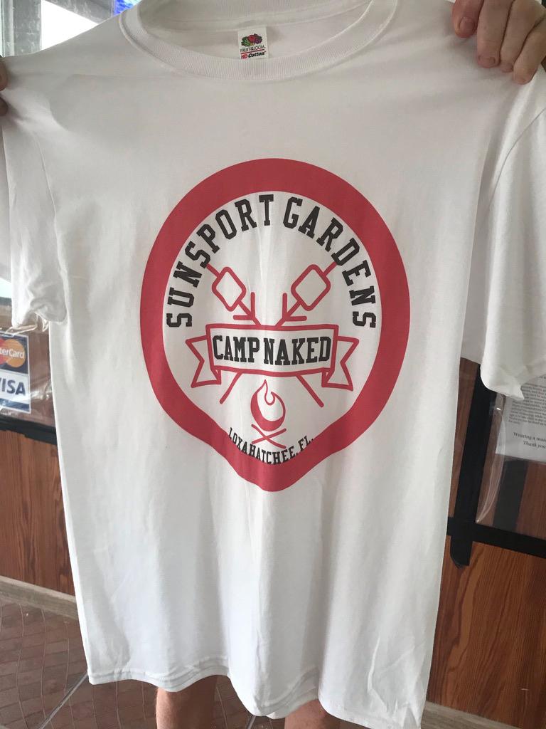 tee shirt camp